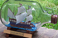 Carolina Ships in Bottles